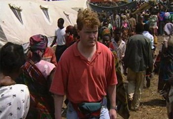 Covering the Rwandan genocide from what was then Zaire