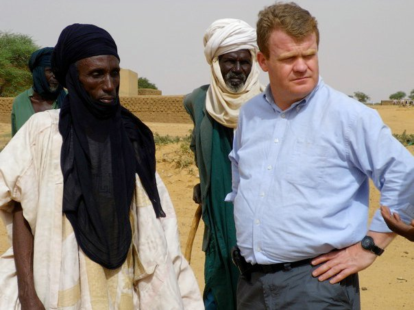With local tribesmen in Northern Niger